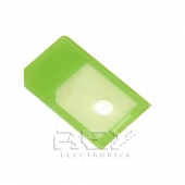 4x Adaptador MICRO SIM A SIM IPHONE 4 4S IPAD Color VERDE