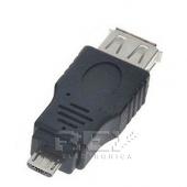Adaptador Micro USB Macho a USB Hembra