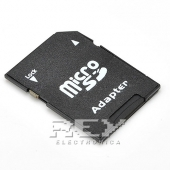 Adaptador Tarjeta MICRO SD a SD SECURE Digital