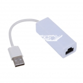 Adaptador USB 2.0 Macho a Red Ethernet RJ45 Tarjeta Red 10/100Mb
