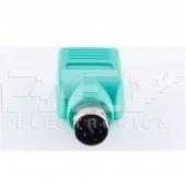 Adaptador USB Hembra a PS2 Macho CONVERSOR Adapter