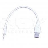 Cable Adaptador Jack 3.5 mm USB 2.0 Movil, Mp3, Mp4