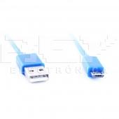 Cable MICRO USB USB AZUL Samsung LG BlackBerry Motorol