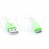 Cable MICRO USB USB VERDE Samsung LG BlackBerry Motorol