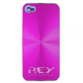 Carcasa iPHONE 4, 4S ALUMINIO Color Fucsia