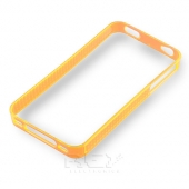 Funda BUMPER Rígida iPhone 4 - 4S Color NARANJA