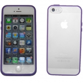 Funda iPhone 5 Carcasa Tamizado Lila