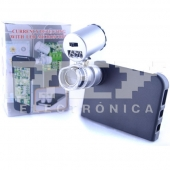 Microscopio LUPA 60X iPhone 4, 4S   Funda   Carcasa