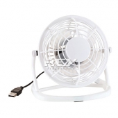 Mini Ventilador  USB Portátil para PC Desktop Blanco