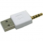 Adaptador Jack 3.5mm USB 2.0 iPod Móvil Mp3