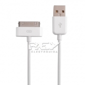 Cable Cargador de Datos USB iPhone iPod iPad