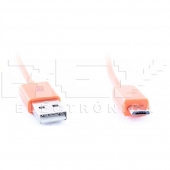 Cable MICRO USB USB NARANJA Samsung LG BlackBerry Motorol