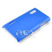 Carcasa LG OPTIMUS L5 E610 P610 Rígida Azul