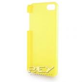 Carcasa iPhone 5 Rígida color AMARILLO