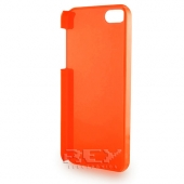 Carcasa iPhone 5 Rígida color NARANJA