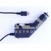 Cargador de Coche Micro USB, 12V-24V, Fusible de Protección