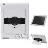 Funda Piel iPad 2 3 4 10.1 Soporte Rotatorio Color BLANCO