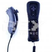 Mando REMOTE+NUNCHUCK para Wii / Wii U color NEGRO
