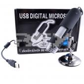 Microscopio Digital Lupa USB 500 X 1,3 Mp 1600 x1200 NEGRO