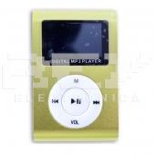 Reproductor MP3 CLIP Pantalla LCD radio FM VERDE 2