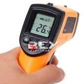 Termómetro de Infrarrojos Pirómetro a Distancia Puntero Laser