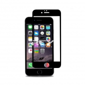 1x Cristal Templado 3D 5D IPHONE 6 PLUS / IPHONE 6s PLUS NEGRO