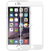 1x Cristal Templado 3D 5D IPHONE 6 PLUS / IPHONE 6s PLUS BLANCO