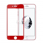 1x Cristal Templado 3D 5D IPHONE 6 PLUS / IPHONE 6s PLUS ROJO