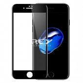 1x Cristal Templado 3D 5D IPHONE 7 / IPHONE 8 NEGRO