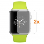 2x Protector Pantalla APPLE WATCH SERIES 6 40mm Plástico