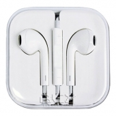 AURICULARES CASCOS CON CONTROL VOLUMEN color BLANCO para iPhone