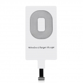 Adaptador Cargador Inalámbrico Blanco Compatible con iPhone