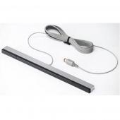 Barra Sensor INFRARROJOS NINTENDO Wii / U Cable GRIS Mate