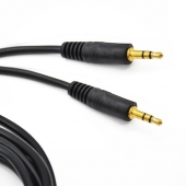 Cable Cable Mini Jack Macho Macho Oro 2 Metros  3.5mm Audio Ster