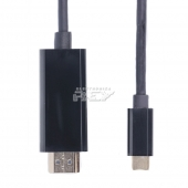 "Cable OTG HDMI Macho a USB 3.1 ""C"" Macho 3 Metros"