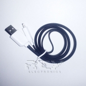 "Cable iPhone iPad iPod LIGHTNING CARGADOR Y DATOS ""USB"",Negro"