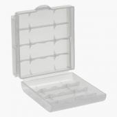 Caja Almacenado Blister Plástico Estuche Transparente para Pilas