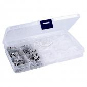 Caja Maletin Estuche con 270 Terminales Faston Macho - Hembra