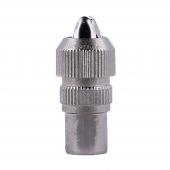 Conector macho Coaxial tipo Crimpado a Antena tipo F Tornillo pa