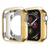 Funda Silicona Color DORADO APPLE WATCH Series 4 / 5 40mm