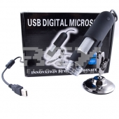 Microscopio Digital Lupa USB 500 X 1,3 Mp 1600 x1200 NEGRO