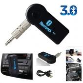Mini Receptor Música Coche Bluetooth Manos Libres Micrófono