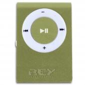 Mini Reproductor MP3 CLIP VERDE admite hasta 8GB Micro SD