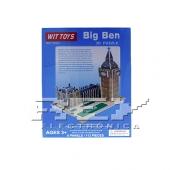 Puzzle 3D Big Ben Didáctico Rompecabezas Londres