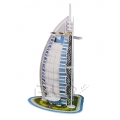Puzzle 3D de BURJ AL ARAB Rompecabezas