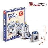 Puzzle 3D de TOWER BRIDGE  CubicFun Rompecabezas 32 Piezas