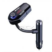 Transmisor FM Bluetooth inalámbrico para Coche USB,